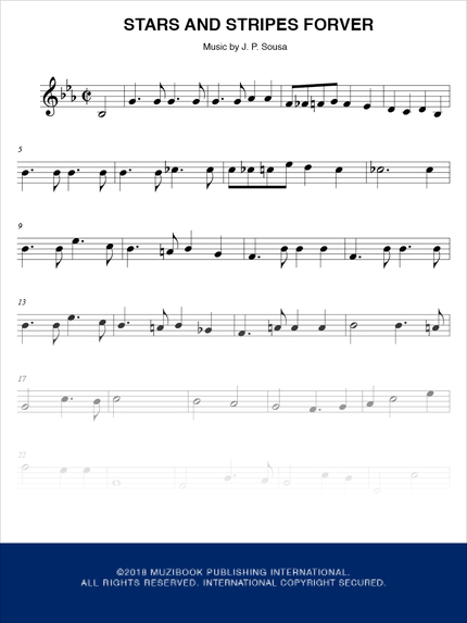 Stars and Stripes Forever - John P. Sousa - M. P. I.