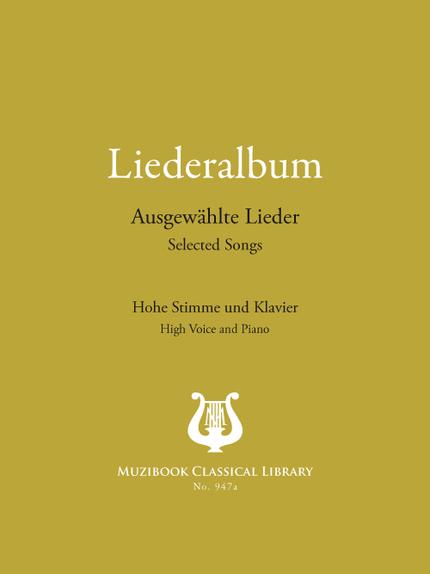 Liederalbum: 22 Selected German Songs -  Various - Muzibook Publishing