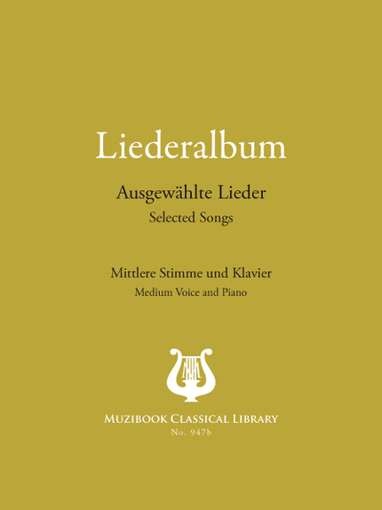 Liederalbum: 22 Selected German Songs -  Various - Muzibook Publishing