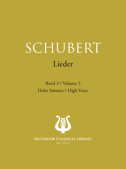 Songs Vol. 3 - Franz Schubert - Muzibook Publishing